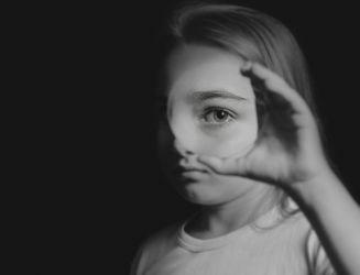 Analóg portrék nagyformátumú kamerával