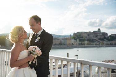Esküvő, Kreatív fotózás - Budapest, Erzsébet híd