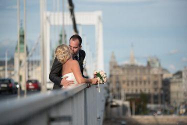 Esküvő - Budapest Erzsébet híd